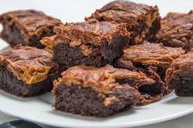 brownies mit banane und erdnussbutter rezept