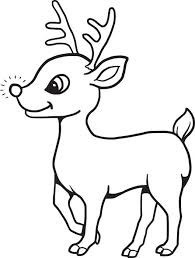 Lovely Reindeer Coloring Pages 98 For Your Free Book With