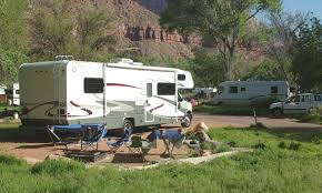 RV Camping In Zion National Park
