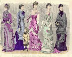19th Century Fashion Plate Godeys Ladies Book 1880