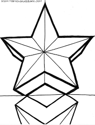 Coloring Page Double Star