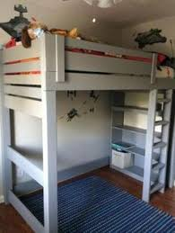 Easy Cheap Loft Bed Plans by Loft Beds Could Have Used This A Few Months Ago Home Ideas
