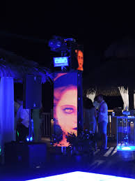 South Beach Themed Dance Floor And Lounge