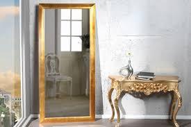 großer design spiegel espejo gold 180x85 cm wandspiegel