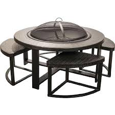 Patio Furniture Conversation Sets With Fire Pit by Patio Conversation Sets With Fire Pit Industries 4 Person Cast