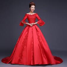 Stunning Red Ballroom Gown Photos