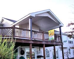 Patio And Deck Combo Ideas by Driveway Carport And Deck Combo Gable Patio Cover U0026 Under