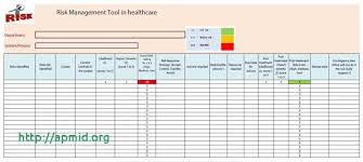 Strategic Management Report Template Unique Steps In The Process Of Risk Healthcare
