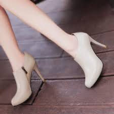 4 inch elegant black fall booties closed toe platform