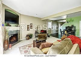 wohnzimmer in hellgrünen und beigefarbenen tönen wohnzimmer