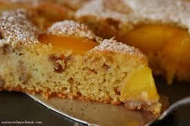 schneller pfirsich sonnenkuchen es schmeckt mir