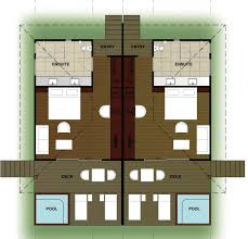 3 Or 4 Bedroom Houses For Rent by Sheraton Resort U0026 Spa Tokoriki Island Fiji