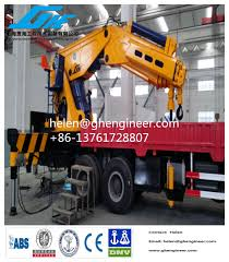 100 Truck Mounted Cranes China Hydraulic Knuckle Boom Crane China Knuckle