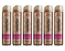 wella wellaflex parfümfrei haarspray für starken halt sanft zur haut 6er pack 6 x 250 ml
