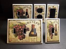 Tuscan Wine And Grape Kitchen Decor by Kitchen Collection On Ebay