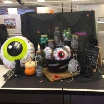 Halloween Cubicle Decorating Contest by Can Structure Contest Canned Compandsave Com Office Photo