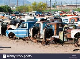 100 Truck Junk Yards Near Me Old Vehicles In An Auto Salvage Yard Being Recycled For Parts And