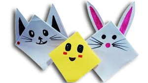 How To Make Cat Face Paper Oriagami Art Design Full Easy Tutorial