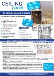 Geo Shower Panels by 5mm Geo Panel 2 7m X 250mm Pack Of 4