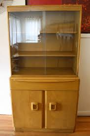 Heywood Wakefield Dresser Craigslist by Heywood Wakefield Corner Cabinet With 2 Tier Table For Sale At
