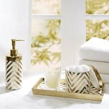 Mercury Glass Bathroom Accessories Uk by Gold Bathroom Accessories You U0027ll Love Wayfair