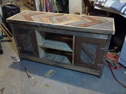 This DIY Pallet Media Console And TV Stand Will Fit Best To You Newly Built Living Room Or Furniture Has Been Set Up Much