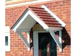 patio door awnings uk front door awnings glass front door canopy uk lawilson info