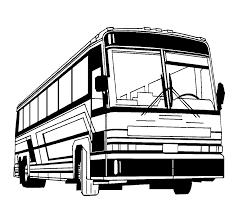 Travel Bus Clipart