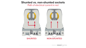 Leviton T5 Lamp Holder by Shunted Vs Non Shunted Sockets How To Tell What You Need