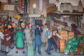 Coit Tower Murals Images by Fall 2015 San Francisco Telegraph Hill Traveler Home