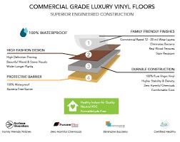Hallmark Vinyl Flooring Is Exceptional Commercial Grade Luxury Floors