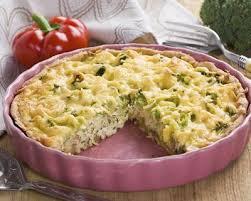 recette tarte salée brocolis et fromage facile rapide