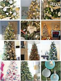 12 Beautifully Decorated Balsam HillTM Christmas Trees