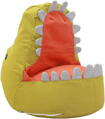 Karla Dubois - Jurassic Mark Dino Bean Bag - Green/Orange 12 Best Stuffed Animal Storage Bean Bag Chairs For Kids In 2019 10 Best Bean Bags The Ipdent Top Reviews Big Joe Chair Multiple Colors 33 X 32 25 Giant Huge Extra Large 3 Ft Rated Bags Helpful Customer Amazoncom Acessentials Vinil And Teens Yellow Of Your Digs Believe It Or Not Surprisingly Stylish Beanbag