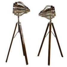 Surveyor Style Floor Lamps by Bogart Surveyor Style Floor Lamp Nautical Searchlight Lamp
