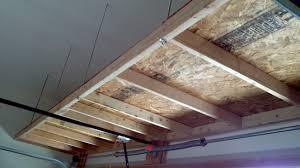 Ceiling Material For Garage by Shelf Above Garage Door Contractor Kurt