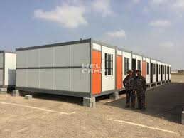 100 Container Houses China Folding House For Labor Camp In Saudi Arabia