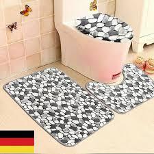 badvorleger teppiche toilettensitzabdeckungen badematte