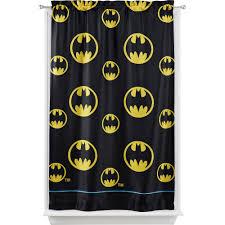Walmart Yellow Chevron Curtains by Warner Bros Batman