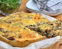 cuisiner une quiche recette quiche aux lardons et chignons de