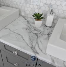 Budget Friendly Bathroom Update Ideas, Formica Calacatta Marble ... Kitchen White Subway Tile Backsplash Ideas For Beautiful Blue Bathroom Best High Quality Cool Joawallscom 7 Interesting Design To Inspire Great Glass In Nice 4470 Intended 30 And Floor Designs Small Bathroom Backsplash Ideas House Wallpaper Hd Mania You 215875 Mutable Bathrooms Alluring Wall Cabinet Delightful 22 Home Smartness Inexpensive Countertops Elegant Cheap New Tile Design Astonishing