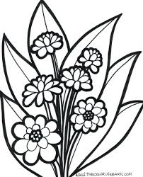 Awesome Flowers Coloring Pages Best And Ideas Butterflies Printable Hard Large Size