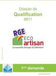 chambre des metiers kbis dossier de qualification version qualibat 1 ère demande pdf