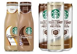New Smores And Mocha Coconut Bottled Starbucks Frappuccinos Plus Protein Doubleshots