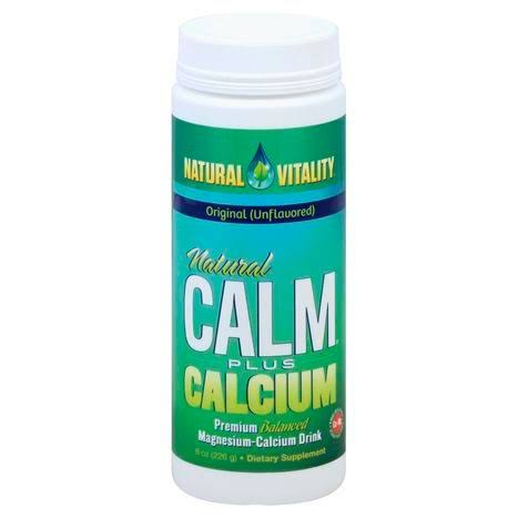 Natural Vitality Natural Calm Plus Calcium - 8 oz
