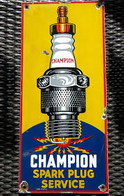 Champion Spark Plugs Vintage Porcelain Sign (Old Antique ... 8x New Genuine Champion Spark Plug For Cadillac Deville 77l 472 Oem 4 Pack Copper Plus Small Engine Plugs Shop At Lowescom N180b Ebay Ecoclean 34 In Rcj6y Plug852eco Rc12lyc5 120 Ryobi 4cycle Plugac00164a The Home Depot Amazoncom 9701 Of 1 Automotive 792 C59yc 14mm 750 Reach 58 Hex 59 Range Cold Premium Quality Rdz4h Stens 130081 Rv15yc4 Each 303