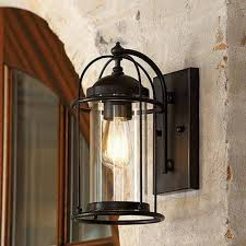 large exterior wall lights