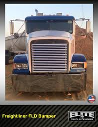 100 Valley Truck Outfitters Freightliner Bumper FLD 112 FLD 120 Elite Accessories