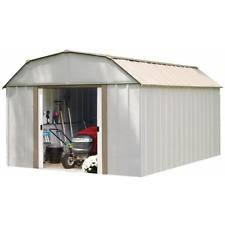 Rubbermaid Horizontal Storage Shed 32 Cu Ft by Outdoor Storage Container Shed 32 Cu Ft Pool Patio Garden Firewood