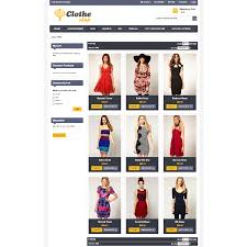 clothe shop magento premium themes templates for magento connect
